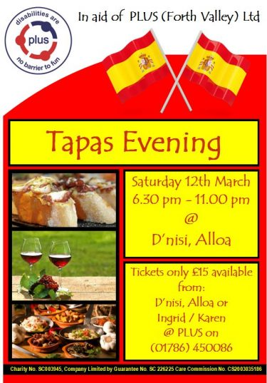 Tapas Night – 20th December 2016
